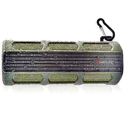 Alpatronix Rugged & Waterproof Wireless 12 watts Bluetooth 4.1 Speaker AX410