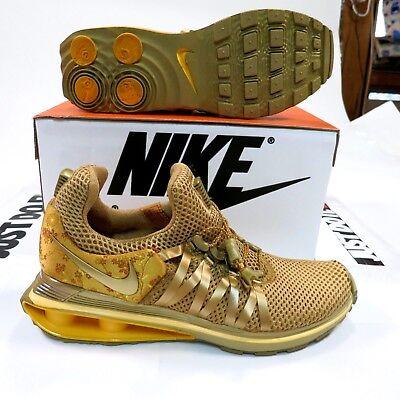 30f317a6c7f  150 Women s Nike Free Shox Gravity Size 7.5 Metallic Gold NEW AQ8554 700