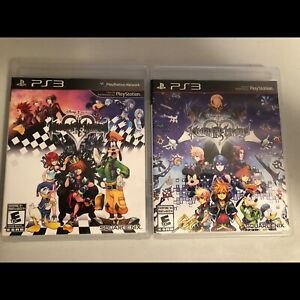 Kingdom Hearts 1.5 and 2.5 for PS3