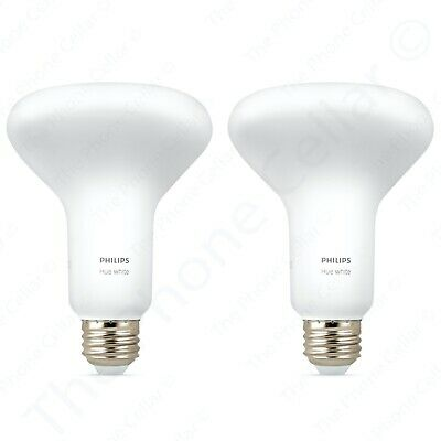 Philips Hue BR30 LED 2-Pack Smart Bulbs 548594 Amazon Alexa Nest Bluetooth White