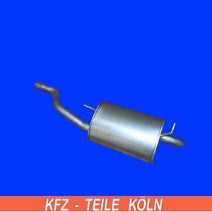 FORD-STREET-KA-KA-1-6-Silenciador-Sistema-de-escape-Silenciador