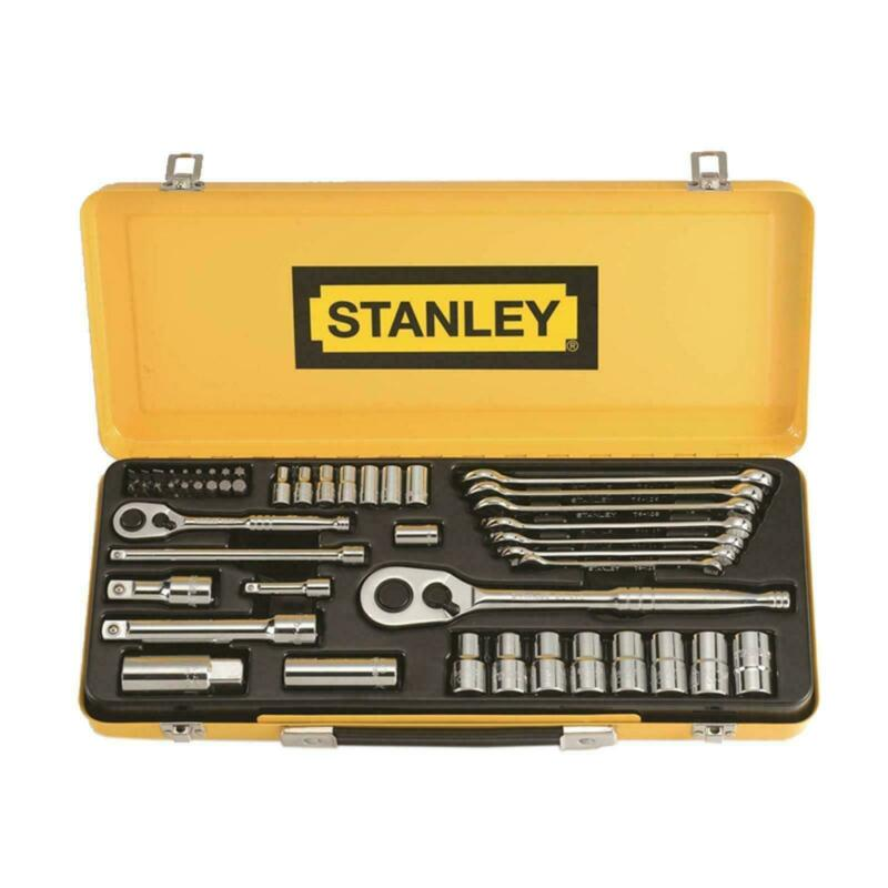 Stanley 49 Piece Socket And Spanner Set - Usa Brand
