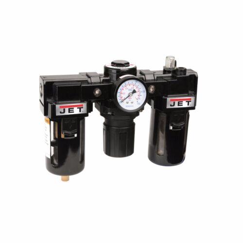 "Jet Item # Jfrl-12   Combination Air Filter / Regulator / Lubricator, 1/2"" Npt"