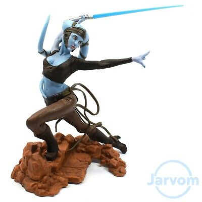 Star Wars Unleashed Statue Jedi Master Aayla Secura Loose Complete