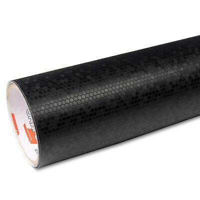 38€/m²  25cm x 1,52m Oracal 975HC Honeycomb 070 Schwarz Autofolie Carbon Waben