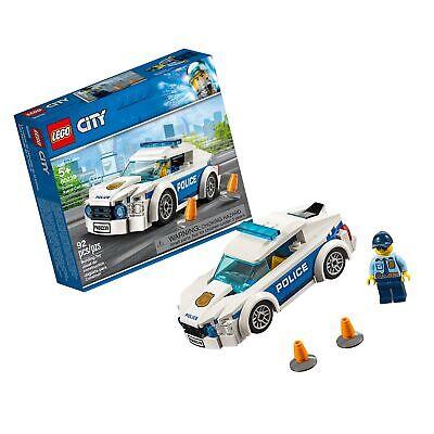 LEGO City Police Patrol Car 60239 Building Kit , New 2019 (92 Piece)