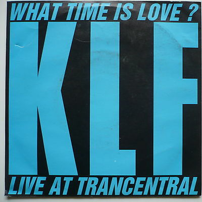 """THE KLF - What time is love? - 7""""-Single"""