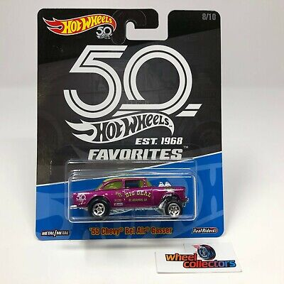 SALE!  '55 Chevy Bel Air Gasser * Hot Wheels 50th Favorites * HH16