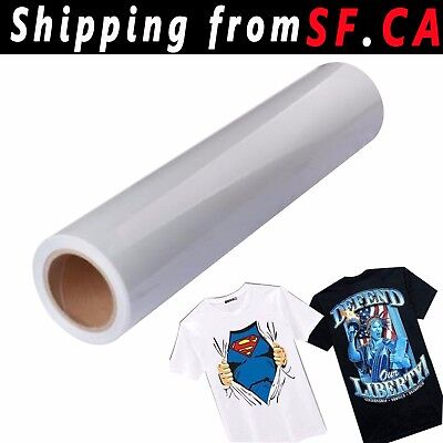 Heat Press Transfer Clear Tape 24x50ft Roll For Printable Heat Transfer Vinyl