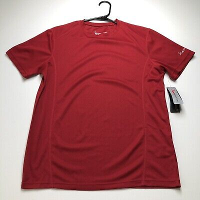 New FreeMotion Activewear Shirt Women Small Solid Red Short Sleeves Gym Workout  ()