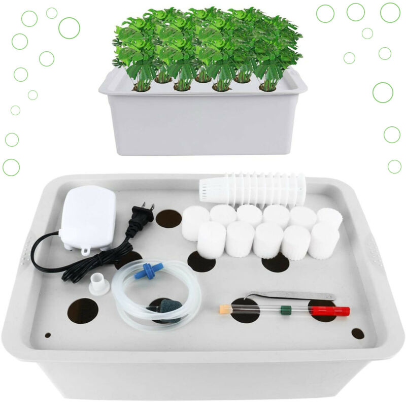 Portable Indoor Hydroponic Grow Kit With 11 Holes Home Garden Indoor And Outdoor