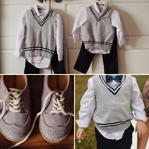 Toddler boys formal/wedding outfits 18M and 4T