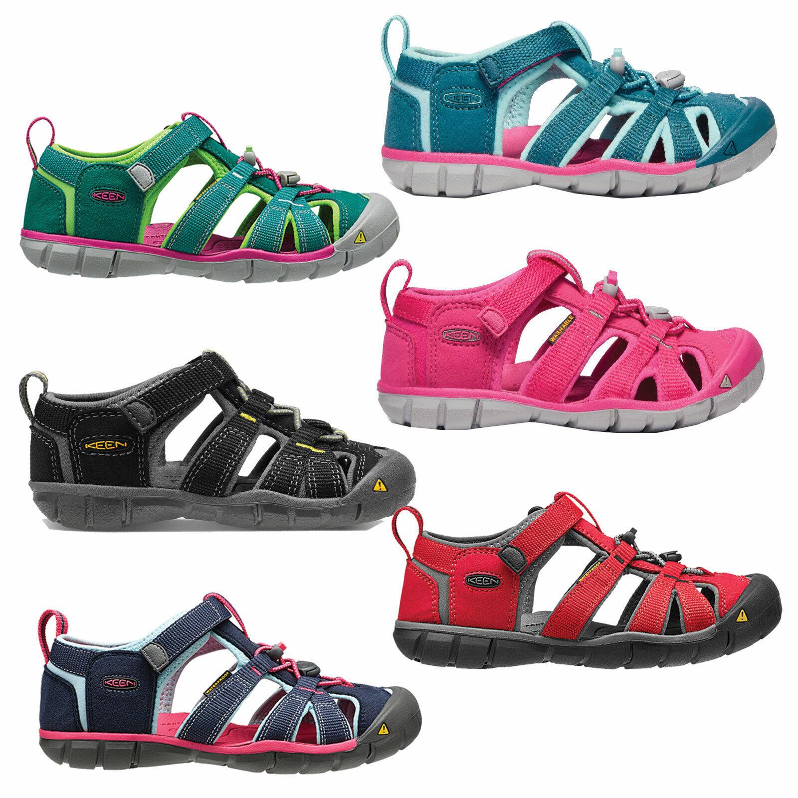 Keen Seacamp Kinder-Sandalen Sandaletten Outdoor-Trekking-Wander-Schuhe Mädchen