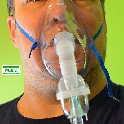 Valdotek Cool Mist Nebuliz Masks Inhaler Accessories Kit Kids And Adult Mask