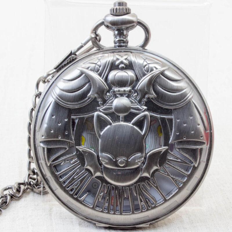 RARE! Final Fantasy XIV Pocket Watch Moogle Taito JAPAN SUARE ENIX Free Shipping
