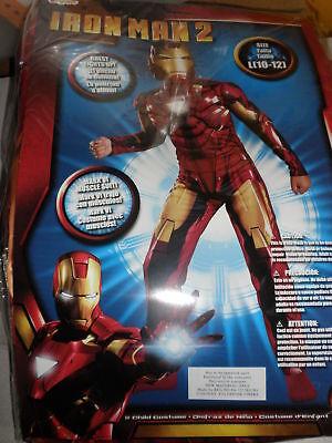 MARK VI Iron Man 2 Costume for Boys L (10-12) NEW super hero disney (Iron Man Mark 2 Costume)