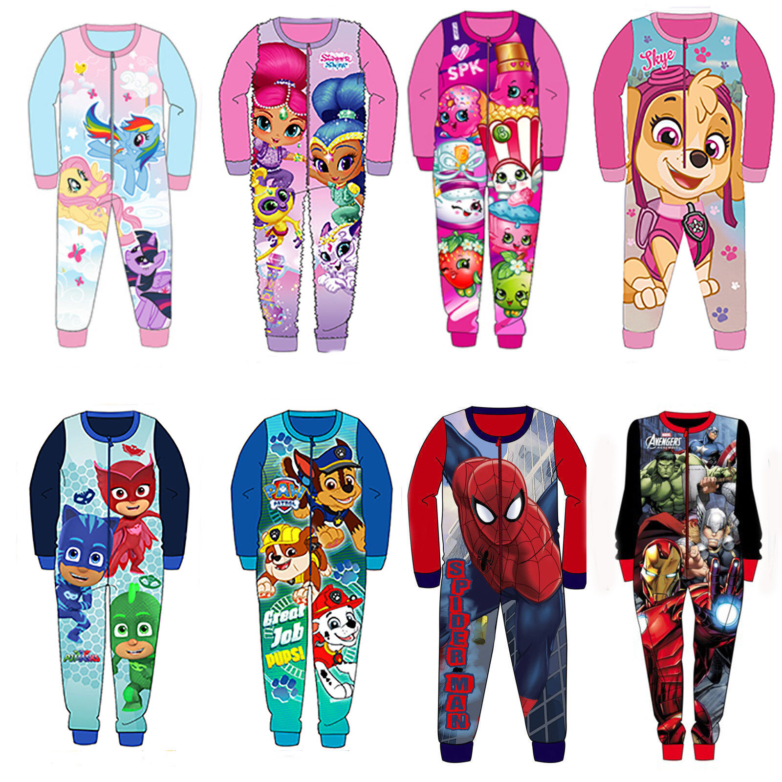 Girls Boys Baby PAW PATROL PJs Pyjamas Pajamas Short Sleeves Summer Set Pj BNWT