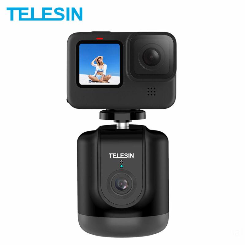 TELESIN Smart Tracking Holder AI Shooting Gimbal 360° Rotation Auto Face Follow