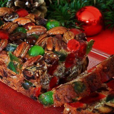 Holiday Fruitcake - Mary Lou's Famous Homemade Holiday Fruitcake 3 Pound Loaf Great Christmas Gift