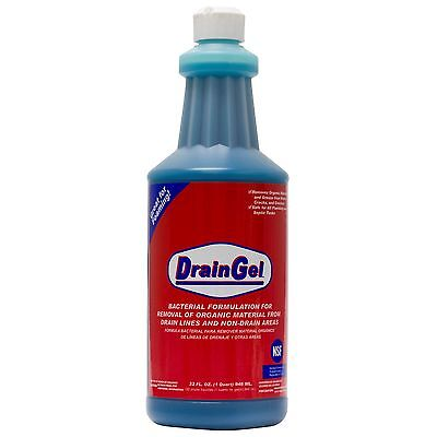 Drain Gel Drain Fly Treatment 1 Qt For Drain Fly and Fruit Fly Breeding Sites