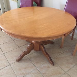 dining table extendable for round in melbourne region vic gumtree