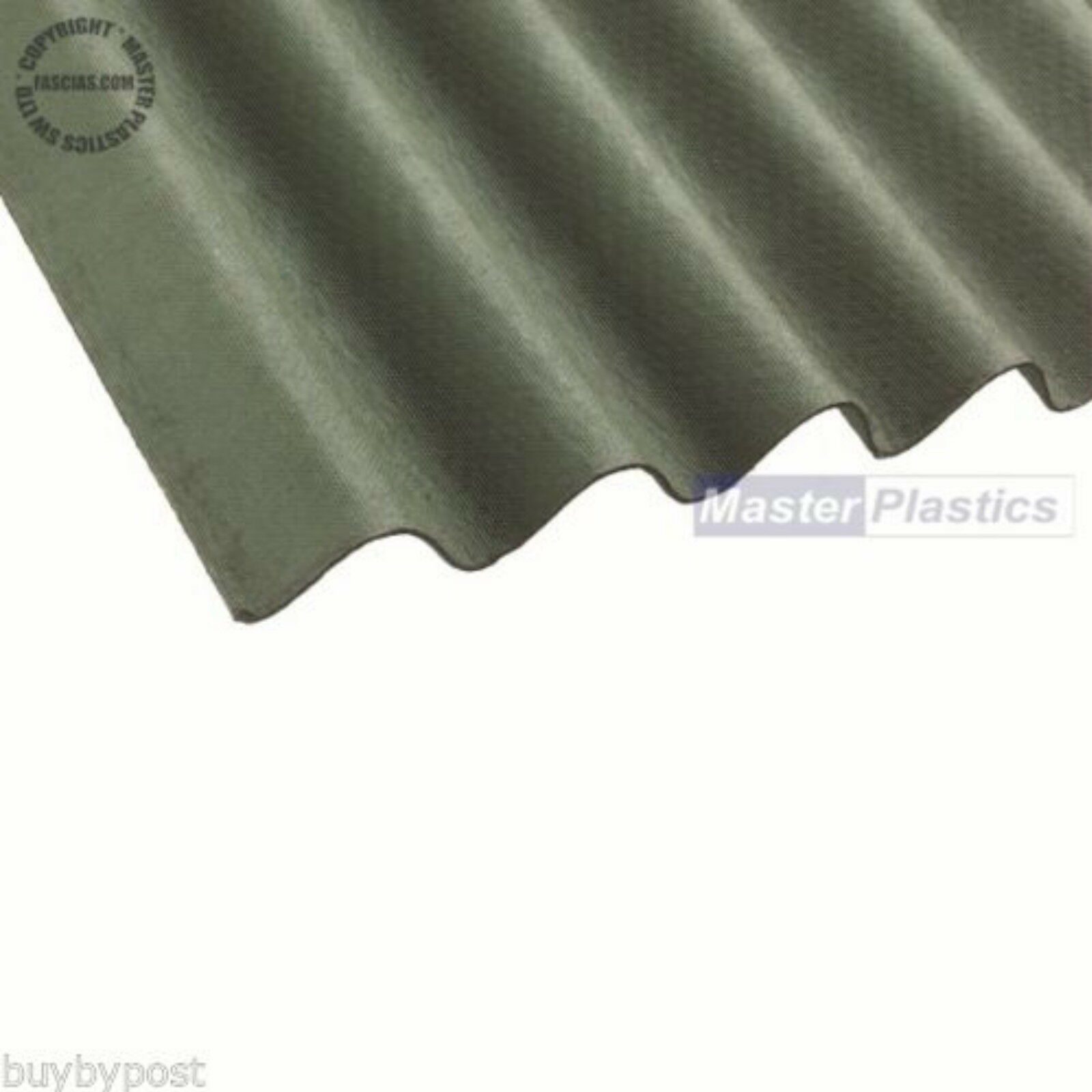 Coroline Roofing Corrugated Bitumen Roof Sheet 2m Green