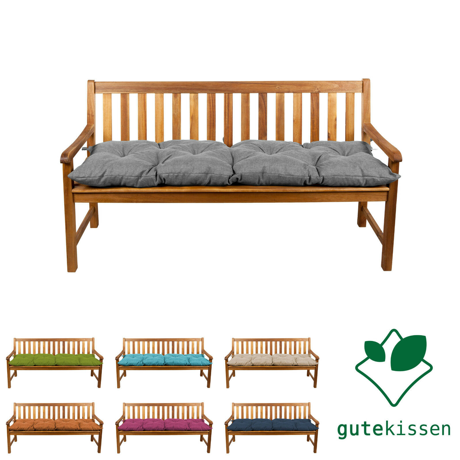 Stuhl Auflage Polster Sitzkissen Stuhlkissen Gartenstuhl Garten Sitz Kissen KUS