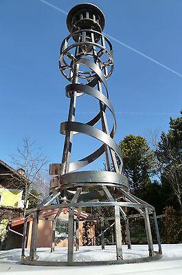 ✿✿Leuchtturm Eisen Garten Kunstwerk 85 cm Unikat Stahl Geschenk Metall billig✿✿  (Kunst Eisen)