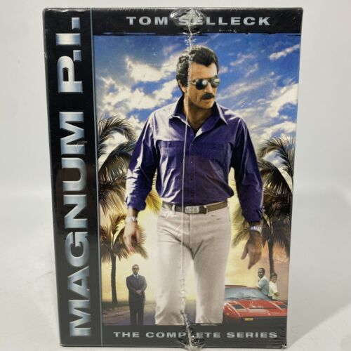 Magnum PI Tom Selleck The Complete Series Seasons 1-8 BRAND NEW SEALED DVD s - $95.00