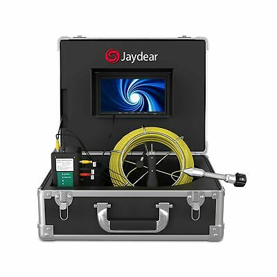 Sewer Camerapipe Inspection Camera 100ft30m Snake Camera Plumbing Video Sys...
