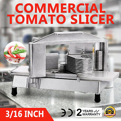 Commercial Tomato Slicer Vegetable Chopper Dicer Cutting Industrial 316