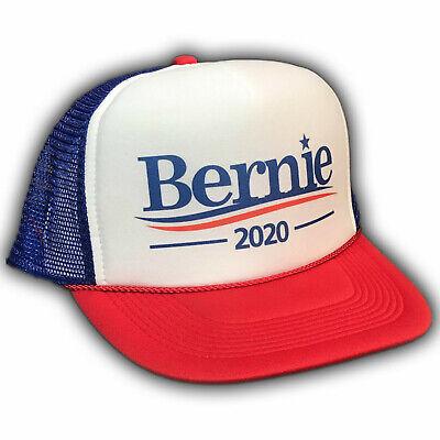 Bernie Sanders For President 2020 Trucker Hat Feel The Bern Burn RWB