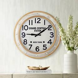 Grand Central Station 24 Railroad Train Wall Clock