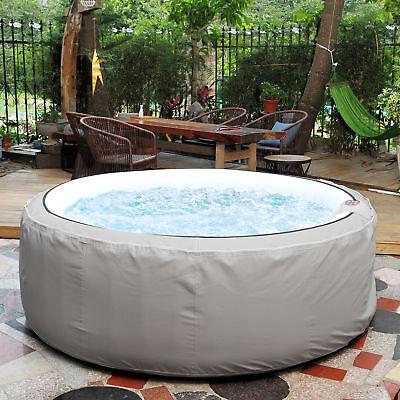 NEMAXX SPA208 LUX selbstaufblasbarer Außenwhirlpool Ø208cm Outdoor Pool Heizung