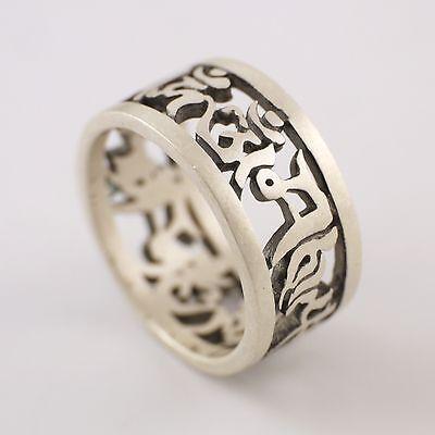 990 sterling silver tibetan ma... Image 1