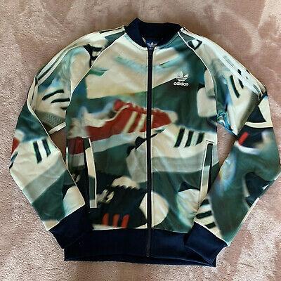 Mens Adidas Zip Up Jacket Size Small