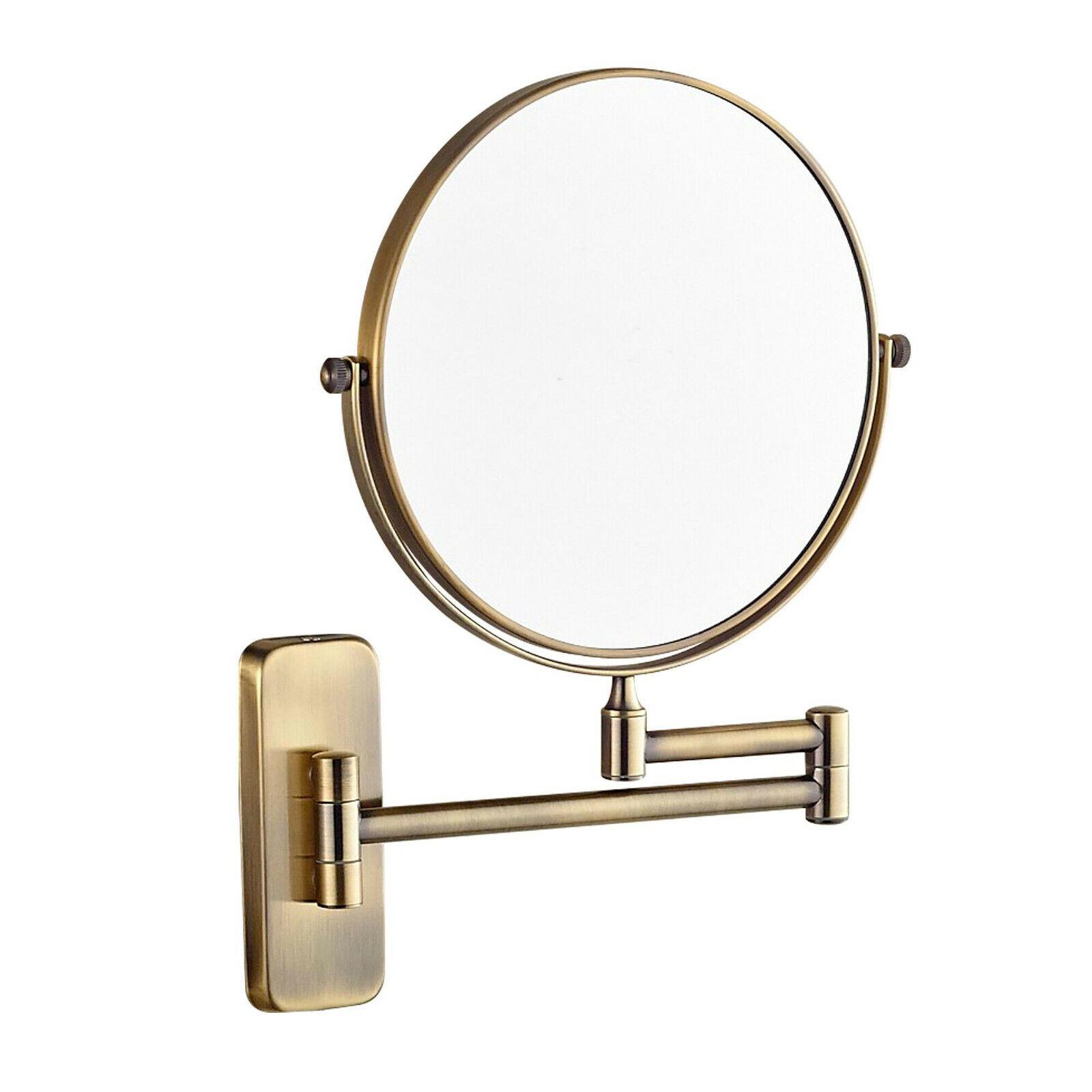 GURUN 10X Magnifying Bathroom Swivel Makeup Mirrors Wall Mou