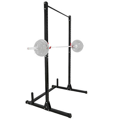 Power Rack Pull Chin-Up Workout Bars Squat Lift Strength Training 550LBs MAX
