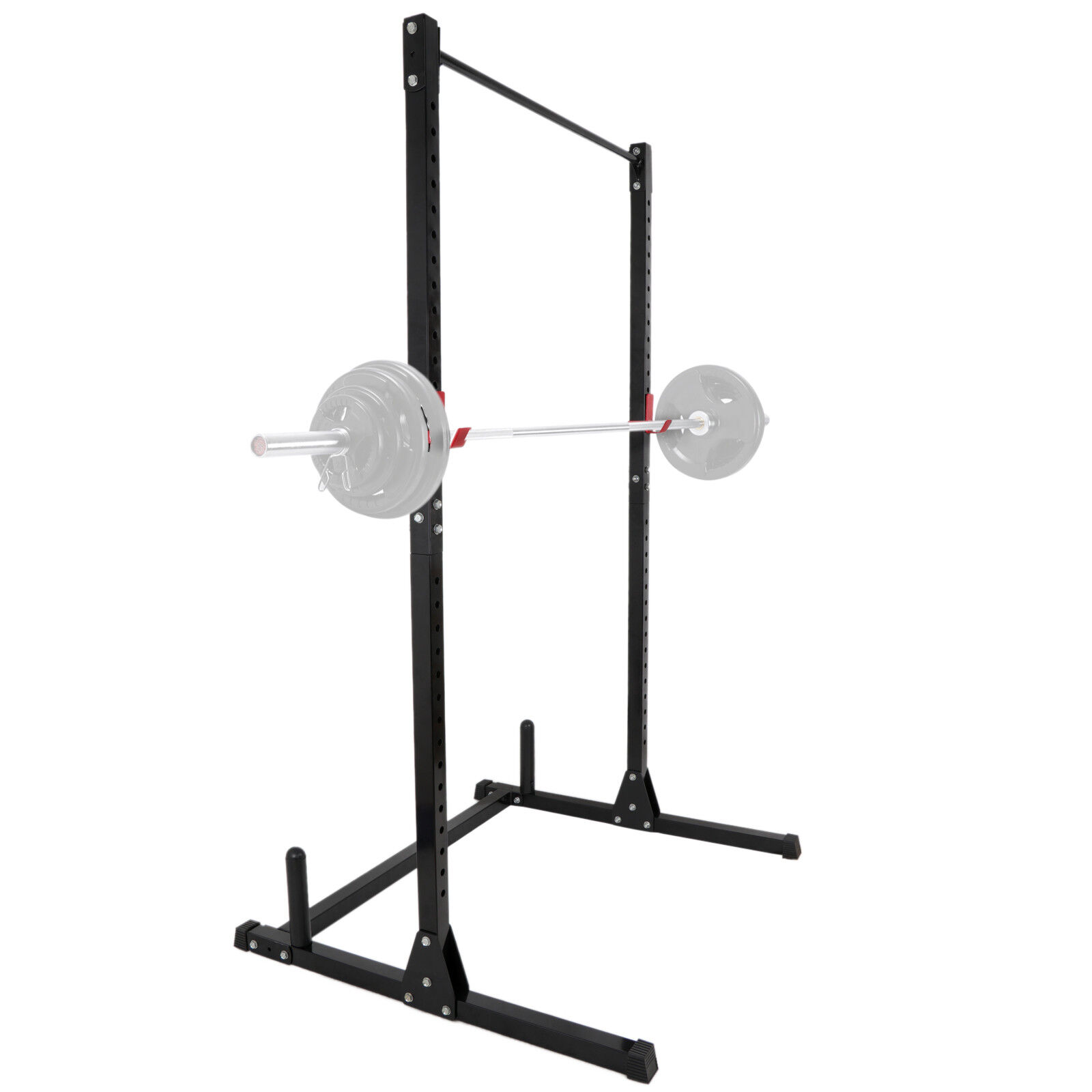 Power Rack Pull Chin-Up Workout Bars Squat Lift Strength Tra