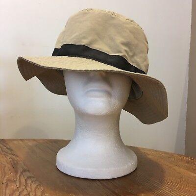 (Vintage Patagonia Lightweight Cotton Bucket Hat Cap S/M)