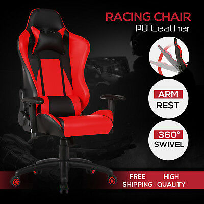 Rocker Black Red Office Gaming Chair Racing Seats Computer Chair Executive