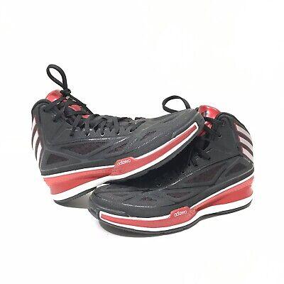 ADIDAS ADIZERO CRAZY LIGHT 3 Mens Size 8 Red Black Basketball Shoes G66514