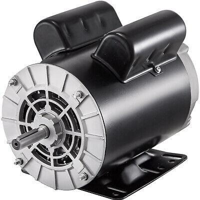 3 Hp Air Compressor Electric Motor 1435t Frame 3450 Rpm 208v-230v Single Phase