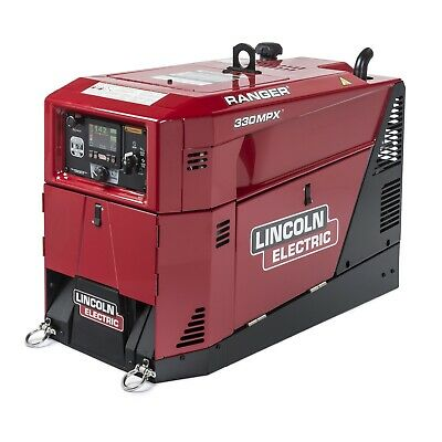 Lincoln Ranger 330mpx Weldergenerator Wgfci K3459-1 With 1000 Rebate