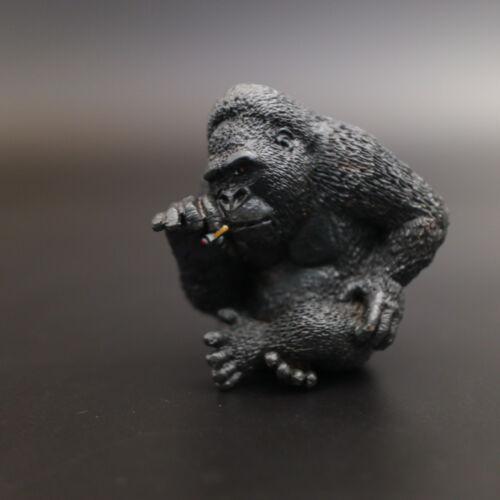 Animal Life Asakuma Toshio Smoking Gorilla Ape
