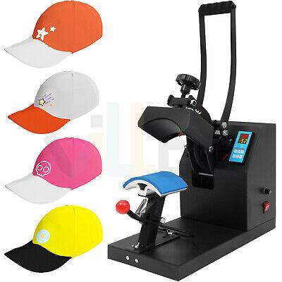 5.5 X 3.5 Digital Heat Press Machine Hat Sublimation Clamshell Transfer