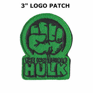 SUPERHERO HULK FIST GREEN HAND EMBROIDERY IRON ON PATCH BADGE MARVEL SUPER HERO