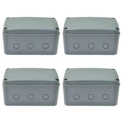 Electrical Junction Box Ip66 Waterproof Dustproof Enclosure Case For Outdoor New