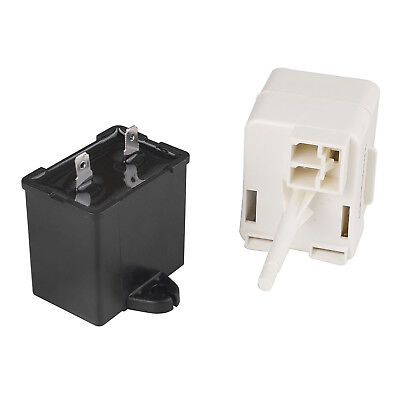 Refrigerator Compressor Start Relay & Capacitor For Whirlpool Maytag W10613606