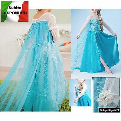 Frozen - Karnevalkleid Elsa 2-12 Y Alter Dress up elsa Kostüme - Frozen Dress Up Kostüm